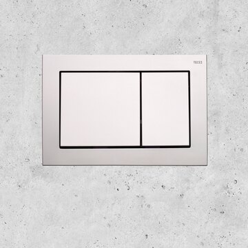 TECEbase is our standard flush plate in square design