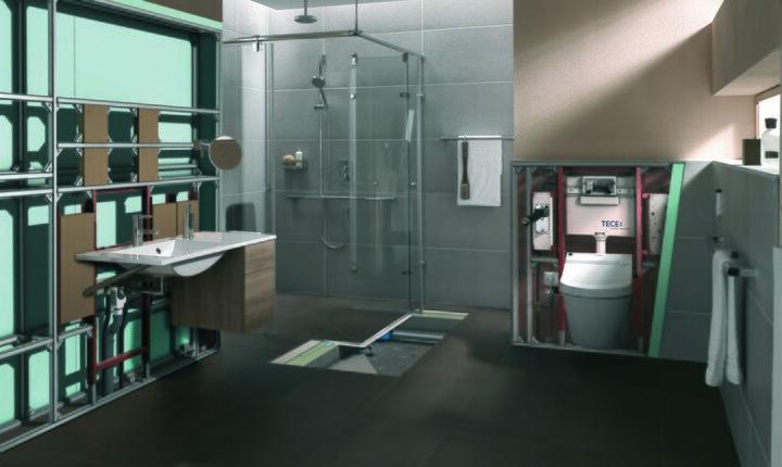 teceprofil trockenbau module tece schweiz. Black Bedroom Furniture Sets. Home Design Ideas