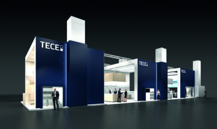 TECE ISH 2017 Messestand
