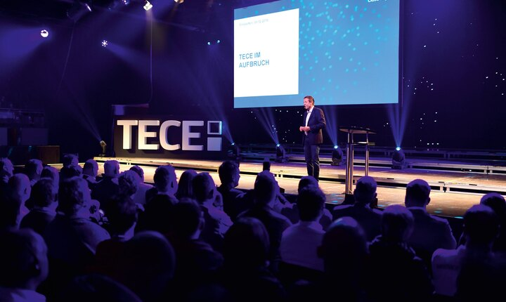 Die Marke TECE - volles Haus