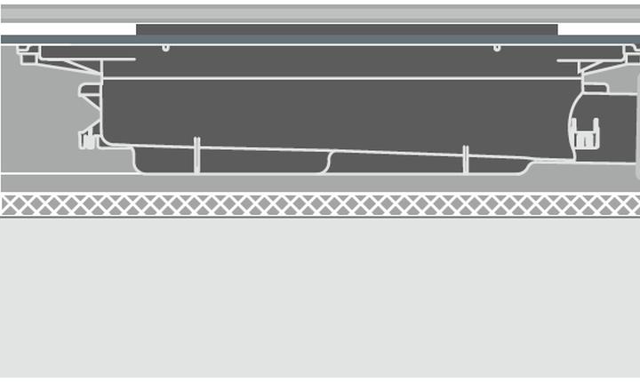 Drainprofile - Ablauf flach