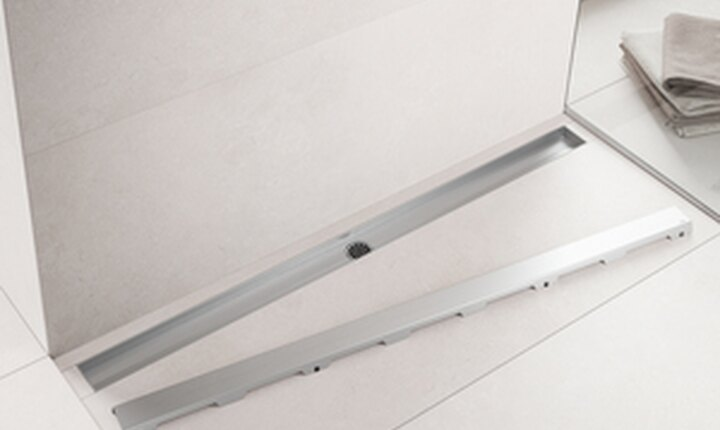 canalina doccia tecedrainline canalina doccia in acciaio inox cristallo pietra naturale. Black Bedroom Furniture Sets. Home Design Ideas